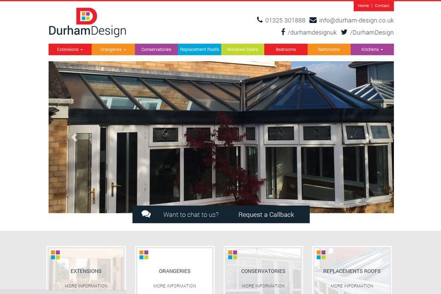 Durham Design Brochure Website Design Design365