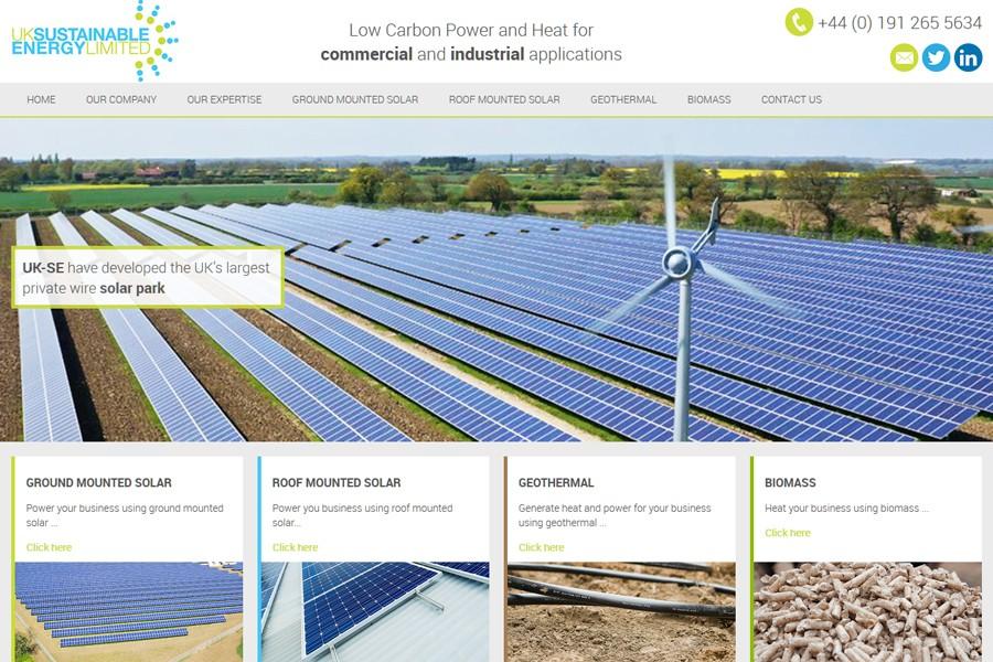 Uk Sustainable Energy (UK-SE) - Desktop View