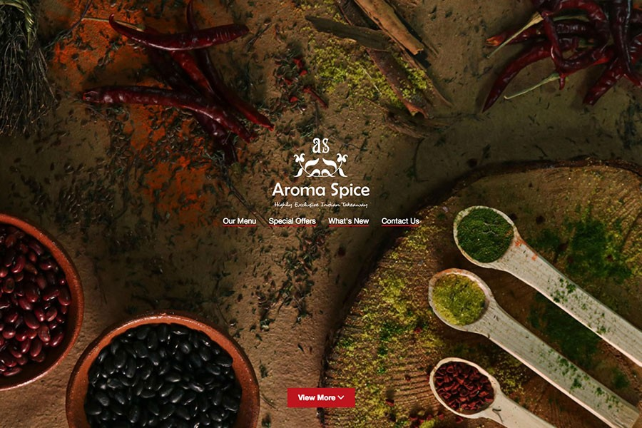 Aroma spice Homepage