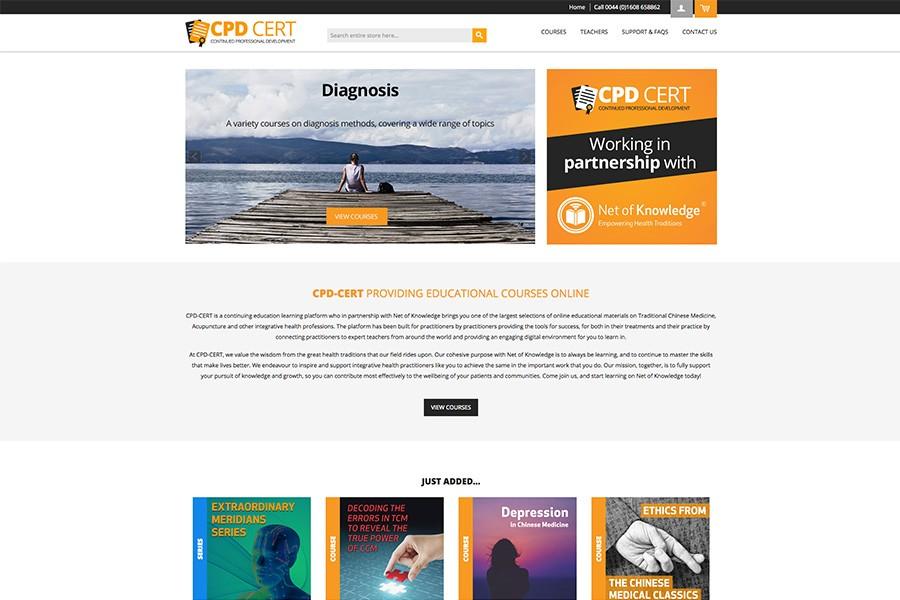 CPD Cert Homepage