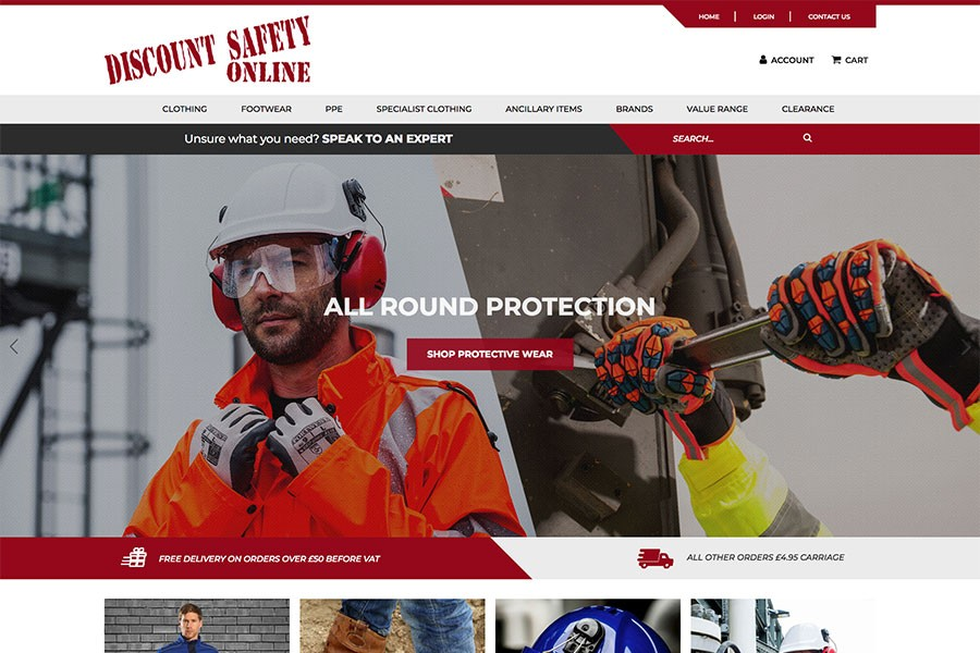 Discount Safety Home Page