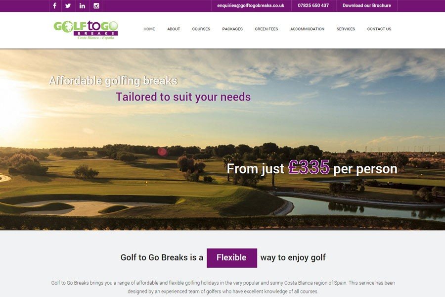 Golf To Go Breaks