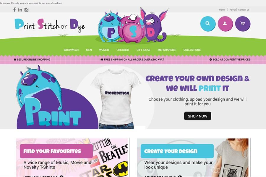 Print, Stitch or Dye
