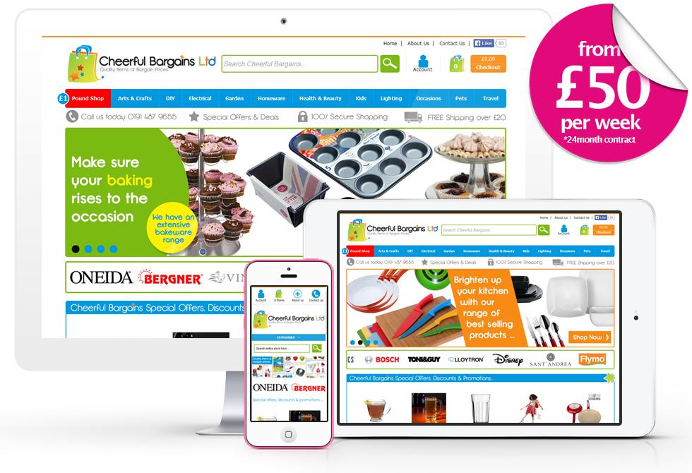 Pay As You Go E-commerce Websites